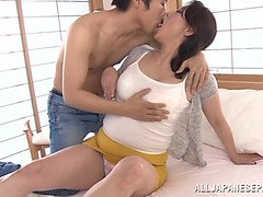 Neko Ayami mature Asian babe is naughty with her date