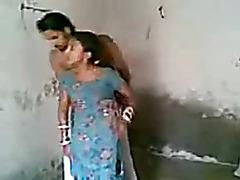 Indian Punjabi Newly Married Bhabhi Screwed With Groans