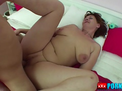 German Milf get fucked by young boy
