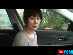 Japanese older woman is sexy