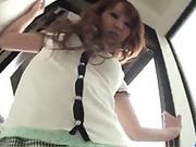 Amateur milf, Rika Kurachi, stimulated in bot