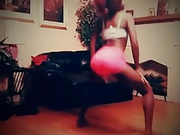 Teen NOT sister Twerking