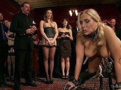 Anal Slave Broken in by Gorgeous Chanel Preston