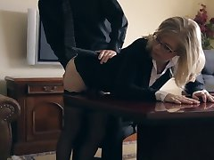 Blonde Mom Housewife Fucked