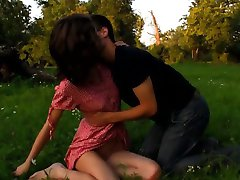 Adorable girlie acquires cum overspread