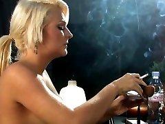 Smoking Beauty Simone