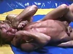 Bodybuilders Wrestle and Fuck Sluts