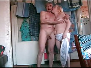Russian amateurs from village fuck