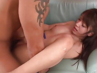 Women private teacher for initiation a cream pie