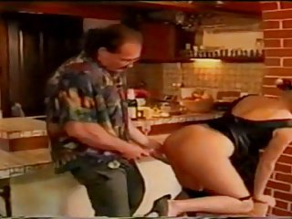 Angelica Bella On The Kitchen Table # 08