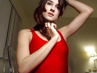 Hot Ass in a Red Dress