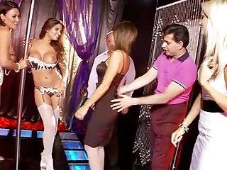 strip club orgy