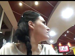 Jerkin' Sperm Into Her Fries