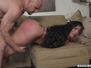 Fat ass Latina maid is happy to take dick for extra cash