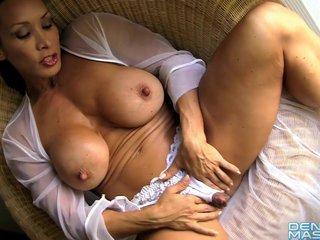 Denise Masino White Crotchless Panty - FBB