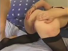 anal lesson for french mature