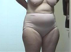 wife's grany panties